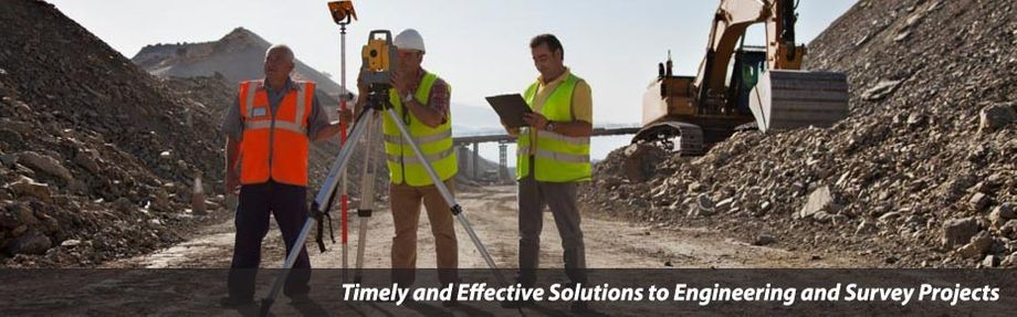 "workers on site - ""Timely & Effective Solutions to Engineering and Survey Projects"""