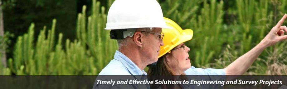 "two people planning - ""Timely & Effective Solutions to Engineering and Survey Projects"""
